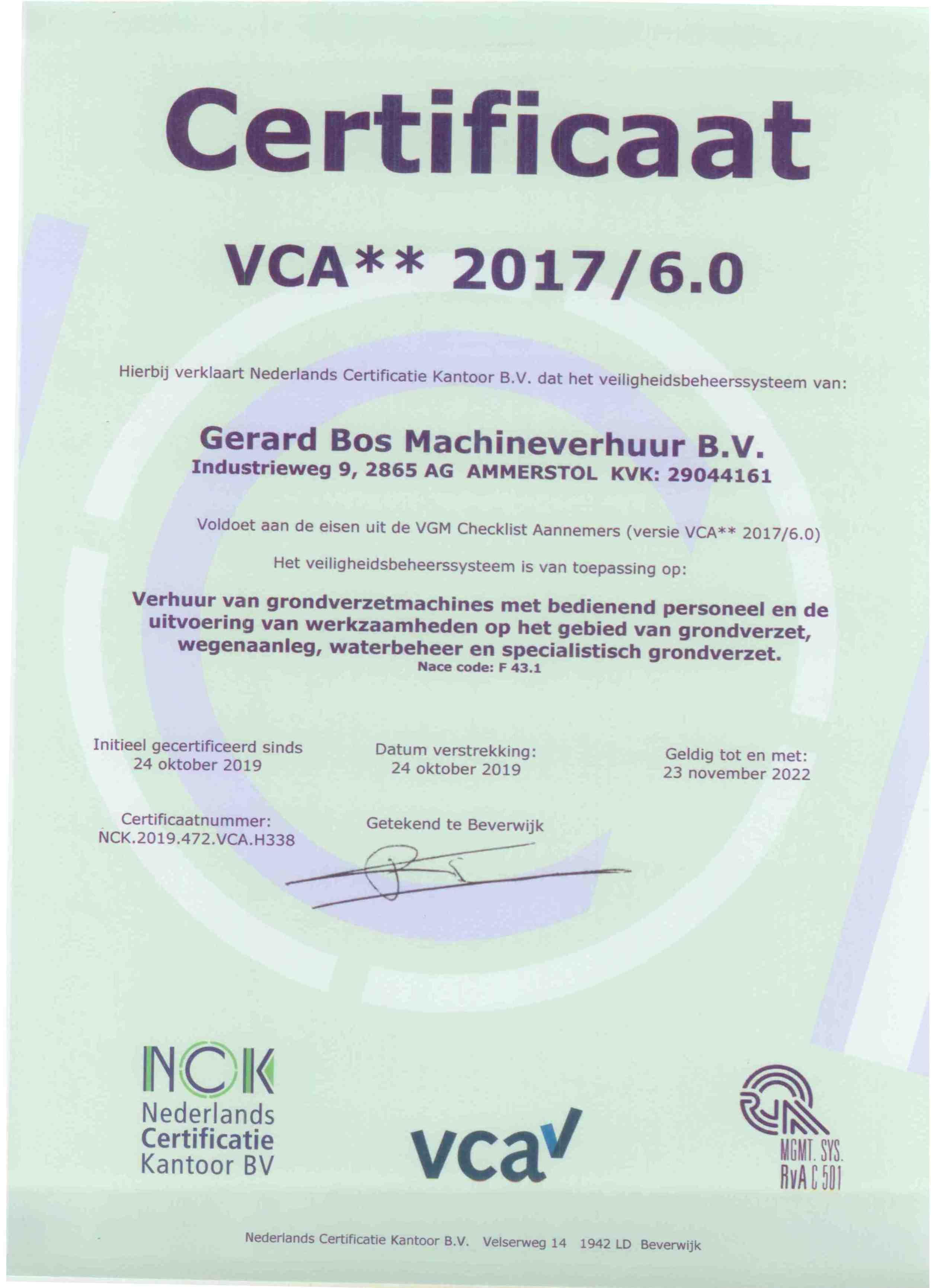 Certificaat VCA 2017_6 0